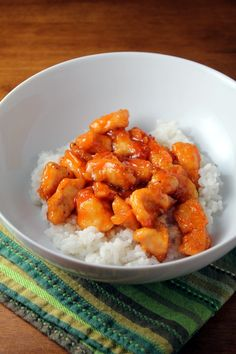 easy sweet and sour chicken (way healthier than takeout!)