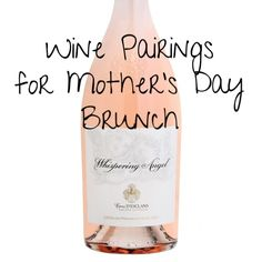Wine Pairings For Mother's Day Brunch: The Best Wines and the Recipes That Go With Them | Martha Stewart Living - To help you make Mother's Day extra special for mom, here are wine pairings for 4 different brunch menus. Whether your mom loves sparkling wine, white, rose, or red, I've selected recipes that compliment her favorite wine style -- and given you some fabulous bottle recommendations.