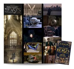 """""""Fantastic Beasts and Where to Find Them : The Original Screenplay by J. K. Rowling"""" by hangar-knjiga ❤ liked on Polyvore featuring art, harrypotter, movies, books and fantasticbeasts"""