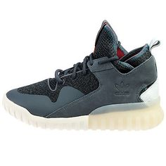 Adidas Tubular X Mens AQ5403 Onix Grey White Athletic Shoes Sneakers Size 9
