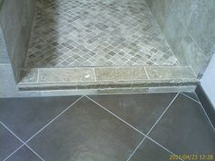 Bathroom tile-really like this Old Bathrooms, Bathroom Stuff, Upstairs Bathrooms, Downstairs Bathroom, Bathroom Renos, Master Bathroom, Bathroom Ideas, Shower Ideas, White Wood Floors