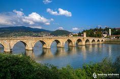 Visegrad and the bridge on the Drina, Bosnia and Herzegovina – Andrey Andreev