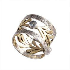 ANTIQUE 925 STERLING SILVER BLUE TOPAZ 4.45g FANCY RING JEWELLERY R0503 #Handmade #RING