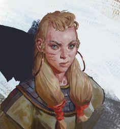 Even Amundsen on ArtStation https://www.artstation.com/artist/mischeviouslittleelf