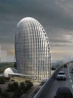 World of Architecture: Impressive Modern Office Tower