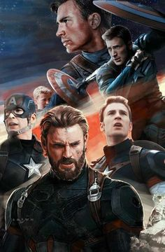 Captain America throughout the MCU until now