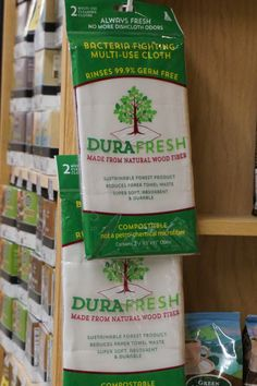 Have you spotted DURAFRESH™ wood fiber cloths in your favorite market? Find them near you: http://durafreshcloth.com/durafresh-cloth/