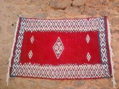 Red, White Hanbel Rug
