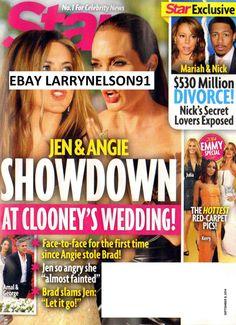 STAR MAGAZINE SEPTEMBER 8 2014 EMMY SPECIAL MARIAH CAREY GEORGE CLOONEY BEYONCE