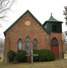 7.  St. Clement's Episcopal Church, Vaiden, MS