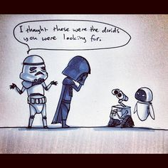 not the droids!!!!