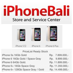 Happy Saturday✨  Please come and visit our store  Nakula Timur 18A Kuta & Seroja 36 Denpasar  ☎️ 499201 , 415036  081999123010  www.iphonebali.com Line  : iphonebali  Bbm : 5196E24F, 74834CB4