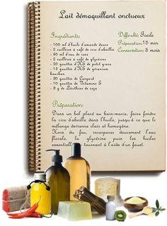 Faire ses cosmétiques maison à base d'ingrédients naturels et bio.