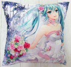 Miku Hatsune (Vocaloid)  Kissen Vocaloid, Anime, Ebay, Shop, Art, Chair Pads, Art Background, Kunst, Cartoon Movies
