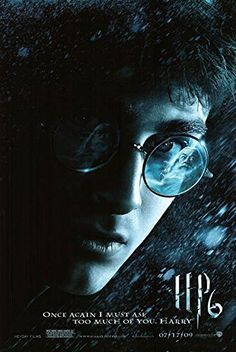 Harry Potter and the Half-Blood Prince - Authentic Original 27 x 40 Movie Poster @ niftywarehouse.com #NiftyWarehouse #HarryPotter #Wizards #Books #Movies #Sorcerer #Wizard