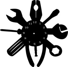 Laser Engraver by Diy Clock, Clock Art, Woodworking Clock Ideas, Cnc Woodworking, Record Crafts, Clock Face Printable, Fancy Watches, Wall Clock Design, Wood Burning Patterns