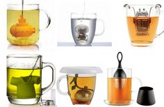 Your tea will nevertaste better with these creative tea infusers  1. T-Rex Tea Infuser- shaped like a Dinosaur withholes for the tea to infuse through and a removable head to put the tea i...