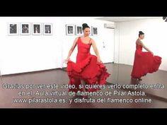 "Iniciación al Baile Flamenco "" Los Giros "" - YouTube"