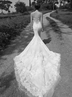 Increibles y atractivos vestidos de novia   Colección Inbal Dror 2014
