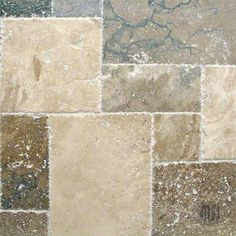 Versailles pattern, natural stone travertine imported from Turkey. Get over off from our stone tile outlet and see more travertine tiles at discount prices. Stone Tile Flooring, Travertine Floors, Stone Tiles, Kitchen Flooring, Versailles Pattern, Nebraska Furniture Mart, Flooring Options, Woodworking Jigs, Tuscany