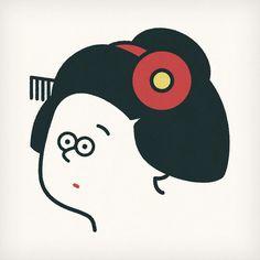 Maiko #maiko #face #japan #artist #popart #instaart #sketch #instagood #character #logo #kyoto #seijimatsumoto #松本誠次 #art #artwork #draw #drawing #illustration #illust #illustrator #design #graphic #pen #イラスト #京都 #絵 #デザイン #舞妓 #ロゴ #日本