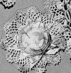 Crocheted Pin Cushion - free pattern