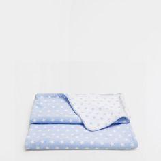 Manta estrelinhas azul - Mantas - Cama | Zara Home Portugal