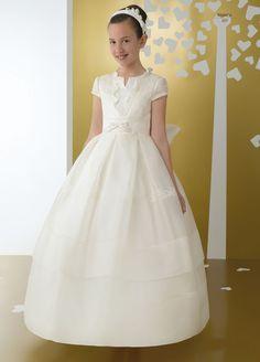 2015 first communion dresses floor length princess white flower girl dresses girls ivory communion dresses vestidos de comunion