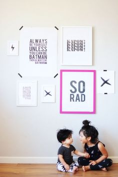 FREE Printable Posters for Kids Room. Or...for adults because who doesn't want to be batman?!