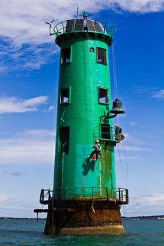 Starboard Marker - Dublin Port, Dublin Bay, Ireland
