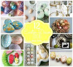 Miss Lovie: 12 Unique Easter Decorating Ideas