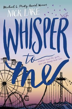 #CoverReveal Whisper to Me by Nick Lake