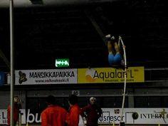 30 sec pole vault slow motion-athleticism!