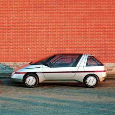 "1986 ItalDesign Orbit...Looks like Marty McFly's ""new"" ride"