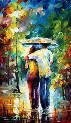 Fashion wall decoration home pure hand painting oil painting leonid afremov Colorful Paintings, Contemporary Paintings, Beautiful Paintings, Art For Art Sake, Painting Techniques, Art World, Painting Inspiration, Art Pictures, Painting & Drawing