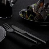 Found it at AllModern - Dorotea Night 4 Piece Table Fork and Table Knife Set