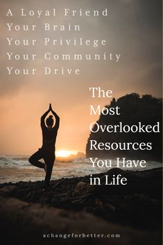 What are some of the most overlooked resources in your life? Achievements can be measured by many different standards. In life, and in your career, there are always set metrics for demonstrating success. How do you measure success for yourself? Meditation Techniques For Beginners, Mindfulness For Beginners, Yoga Poses For Beginners, Inspirational Words Of Wisdom, Words Of Wisdom Quotes, Inspiring Quotes, Best Meditation, Cognitive Behavioral Therapy, Health And Wellness