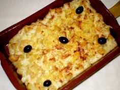 Bacalhau com natas - Portuguese Recipe