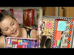 Instead of having all your pens, pencils, and other knickknacks rolling around your locker, why not keep things neatly organized with a locker organizer of your own making?  In this video, children's party planner Sophie Maletsky, with the help of her friend Hanna, will show you different ways to make a DIY locker organizer that you can customiz...