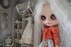 https://flic.kr/p/deHSXi   In the mood for a little orange?   Cooperdolls sweater, paired up with a TaylorCouture skirt. TaylorCoutureDecor  display cabinet ,   Faustogretchen custom Blythe.