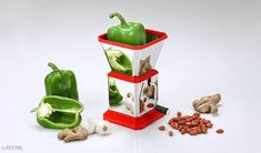 Choppers & Peelers Fruit & Vegetable Cutter  *Material* Stainless Steel  *Size  (L X B X H)* 15 cm X 12 cm X 12 cm  *Description* It Has 1 Piece of Fruit & Vegetable Cutter  *Sizes Available* Free Size *   Catalog Rating: ★3.9 (2919)  Catalog Name: Free Gift Trendy Delight Home & Kitchen Utilities Vol 10 CatalogID_100798 C135-SC1656 Code: 971-867726-