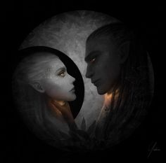 Aelin and the Valg Prince