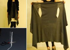 Layered Wrap No Sew Project