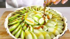 Receita de Tarte de maçã rústica. Descubra como cozinhar Tarte de maçã rústica de maneira prática e deliciosa!