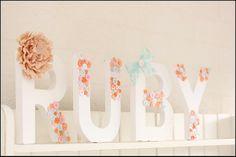 cute as a button party - Kara's Party Ideas