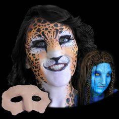 Cat - Na'tive Avatar inspired prosthetic mask