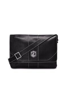 Men's leather bag for laptop Nordweg... Bolso masculino de piel para portátil Nordweg...