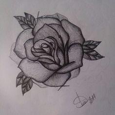 My art work #art #rose #rosa