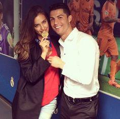 Irina Shayk, Cristiano Ronaldo και το μετάλλιο του Champions League #ronaldo #shayk