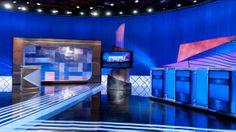 Jeopardy! set from 2009